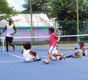 Our junior tennis camp
